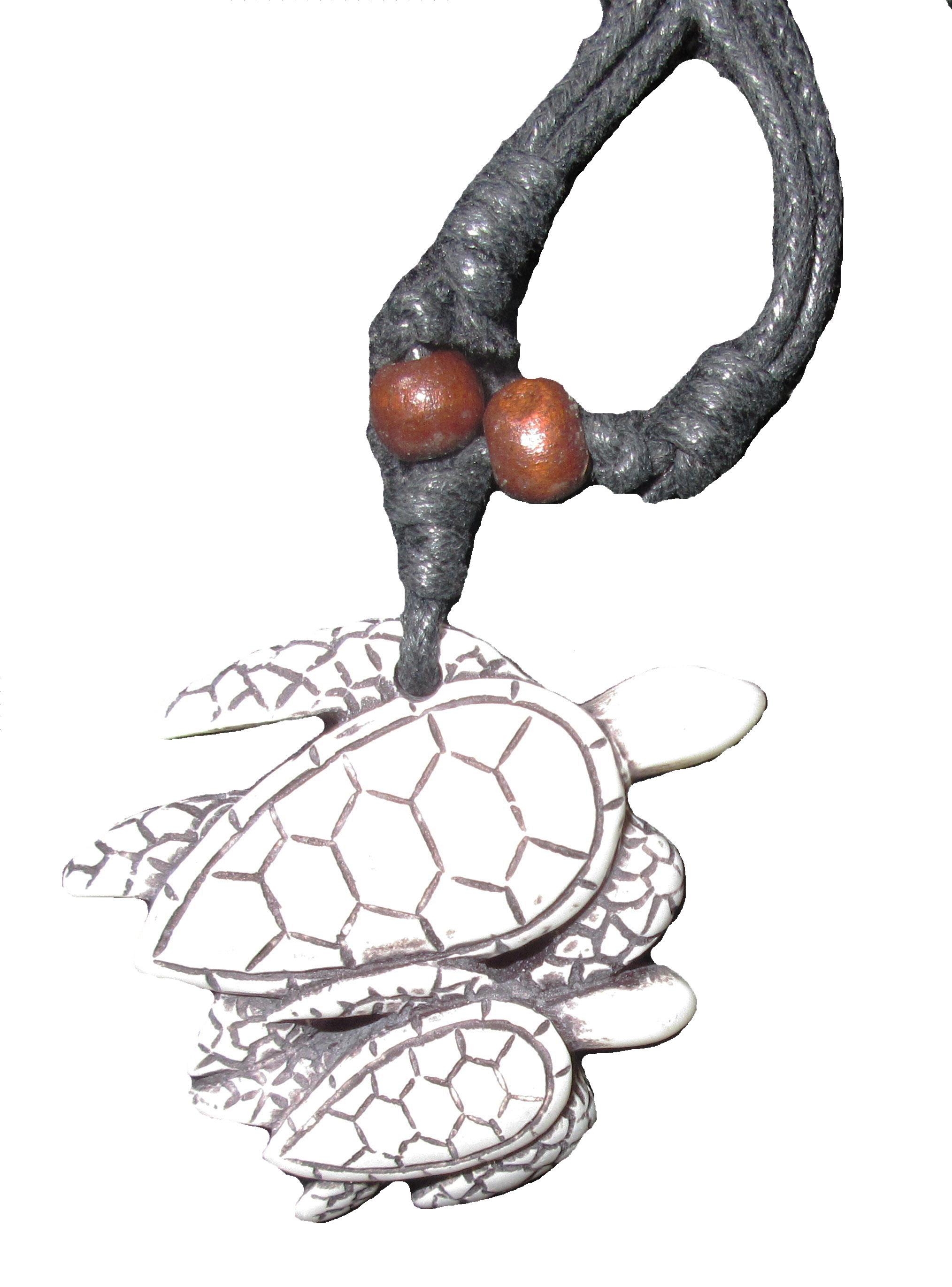 Two Turtles Necklace