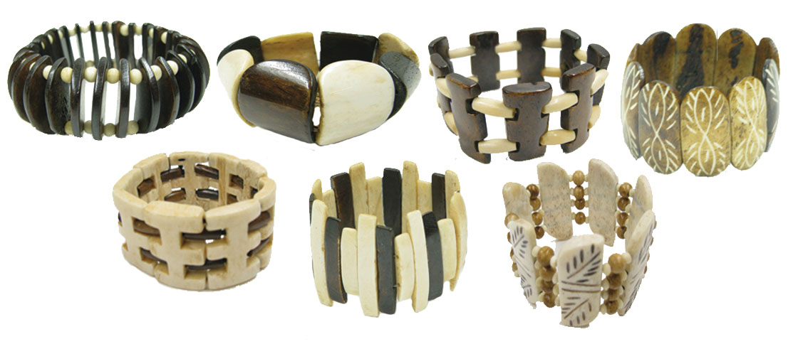 Stretch Bone Bracelets