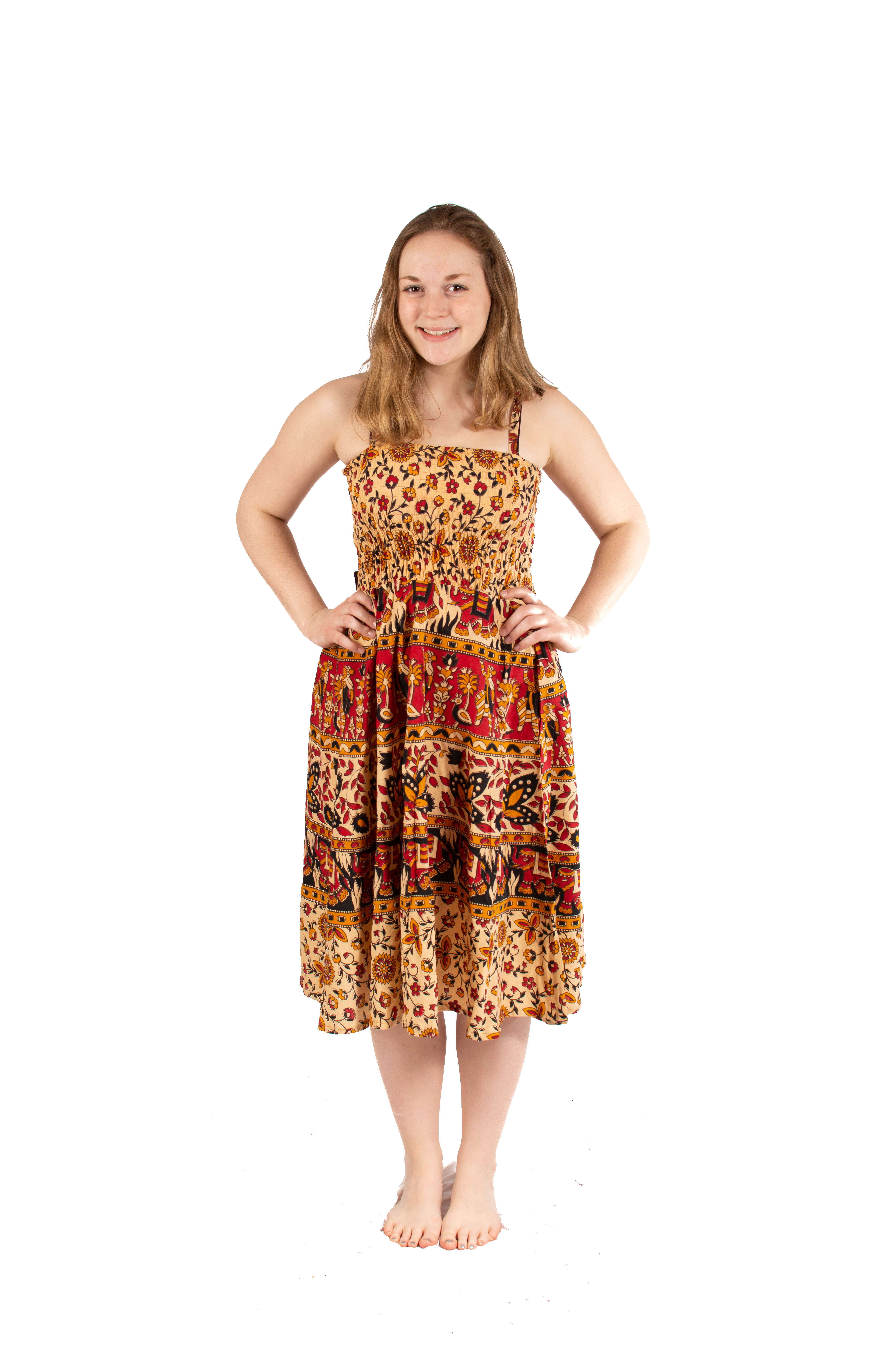 Napthal Tube Top Dress