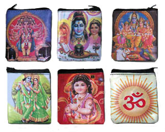Coin Purses Indian God Styles