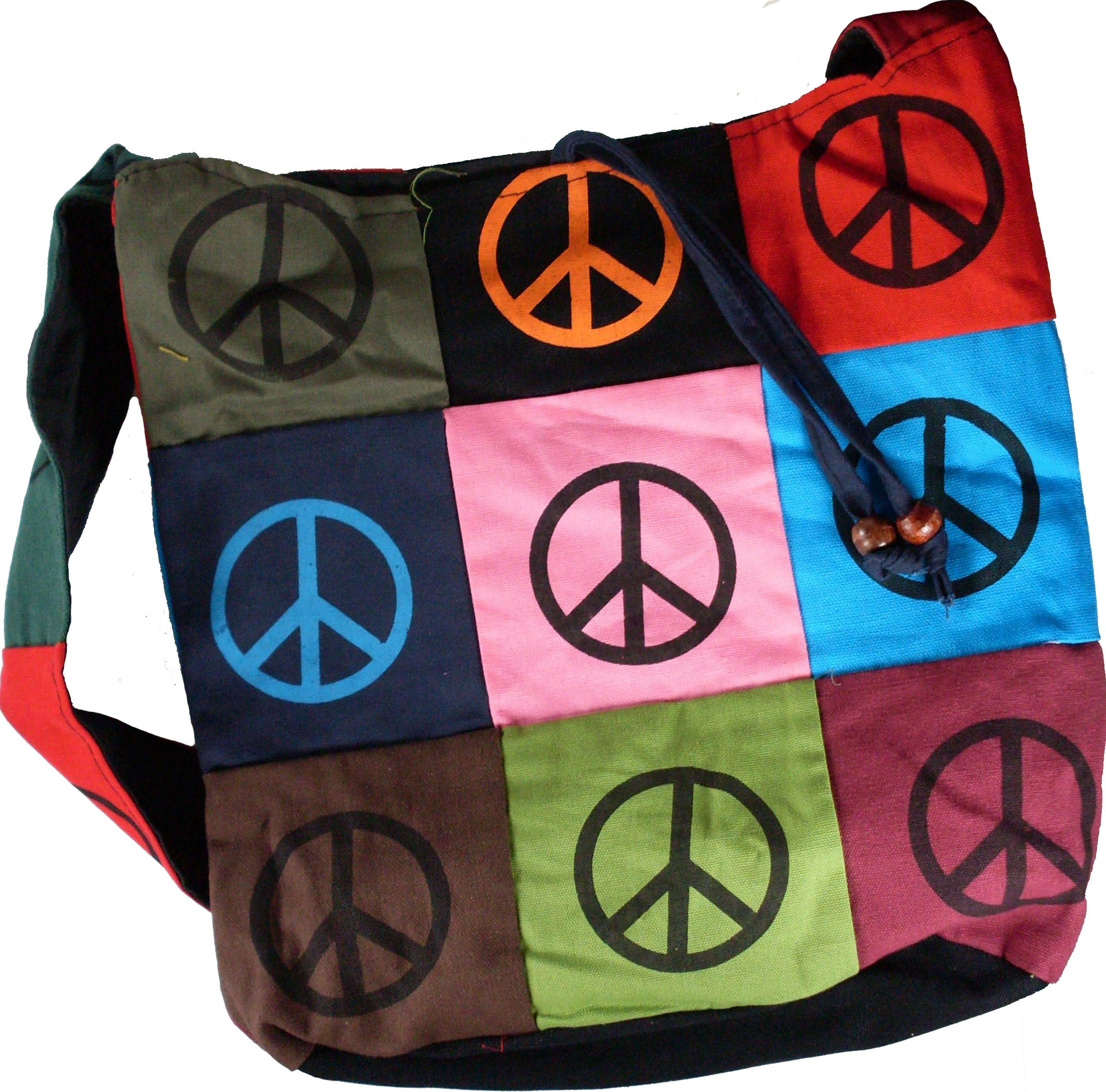 9 Peace Sign Purse