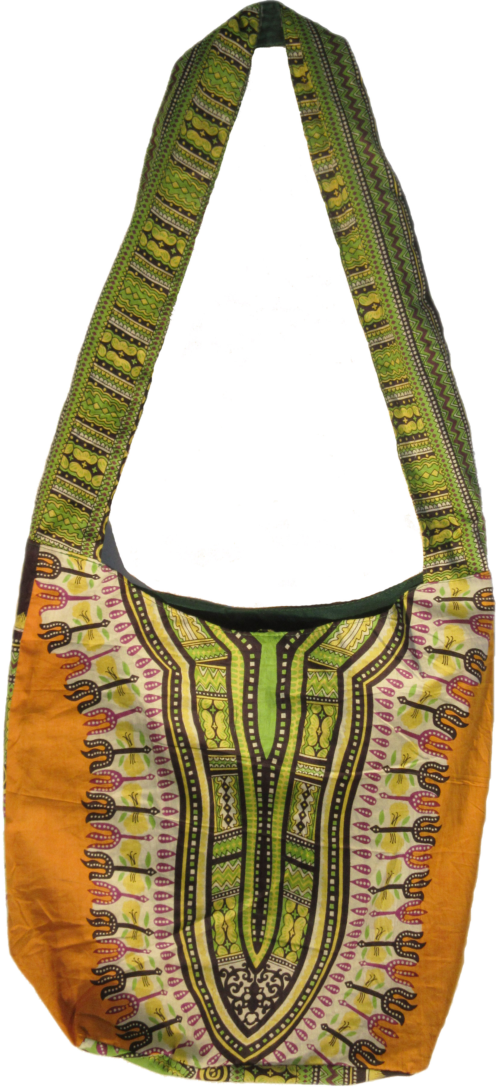 Dashiki Hobo Bag