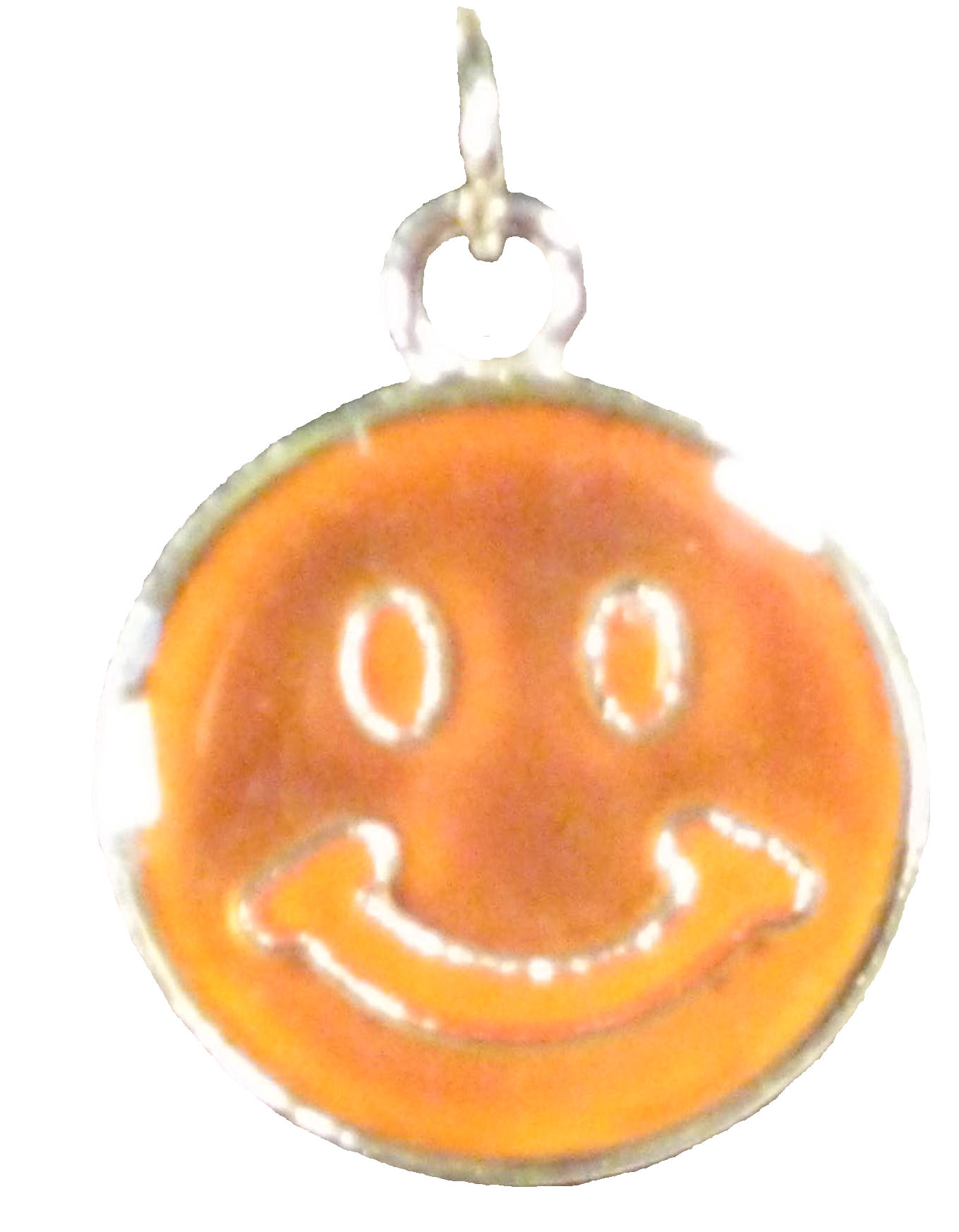 Smiley Face Mood Necklace