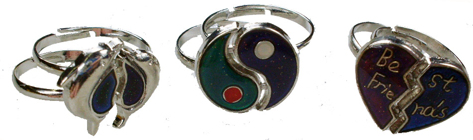 2pc Friendship Mood Ring Sets