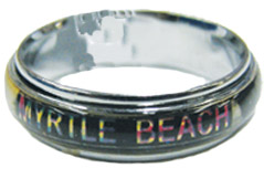 Name Drop Myrtle Beach Mood Ring