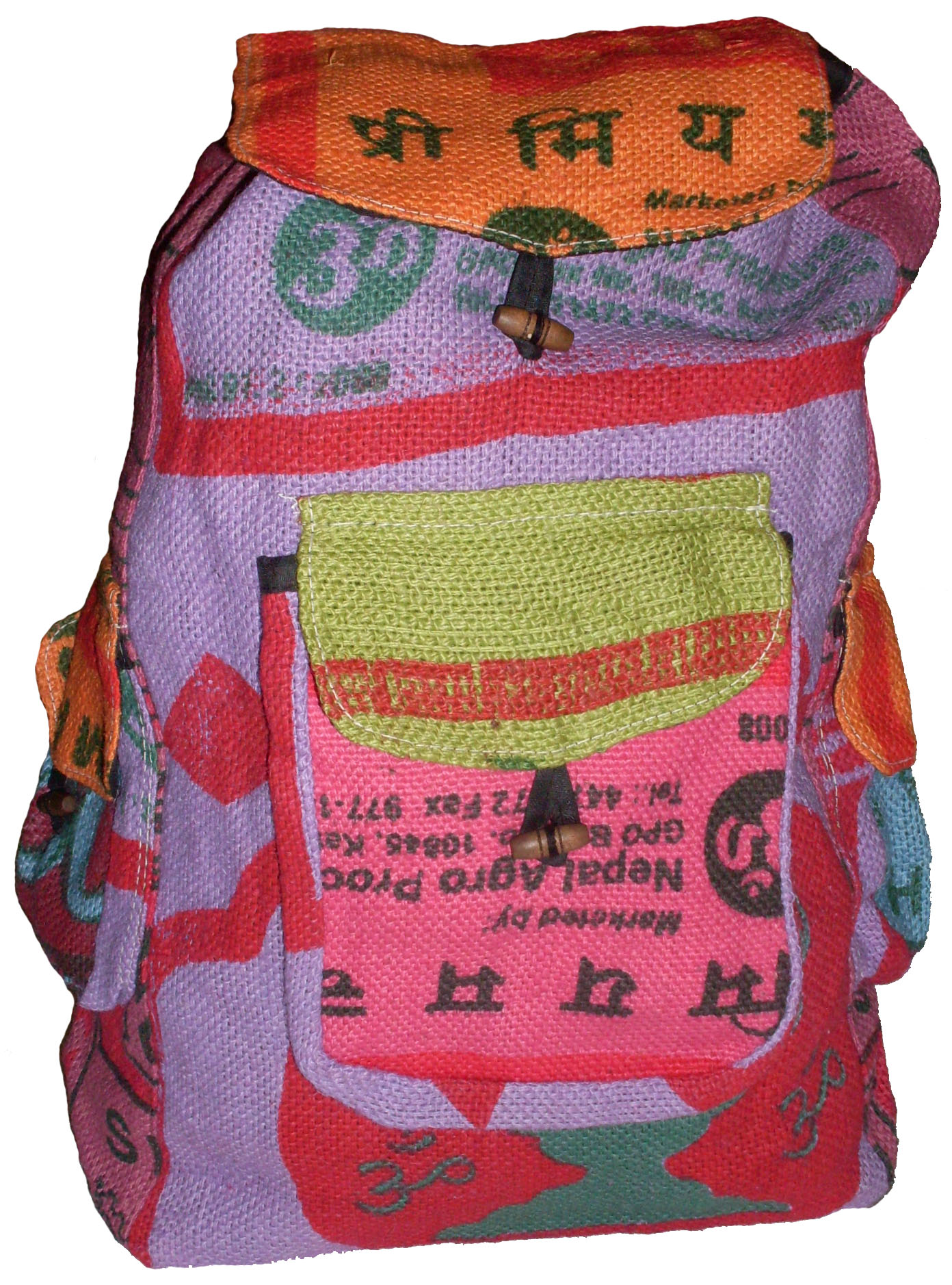 Nepal Tea Bag Back Pack #85