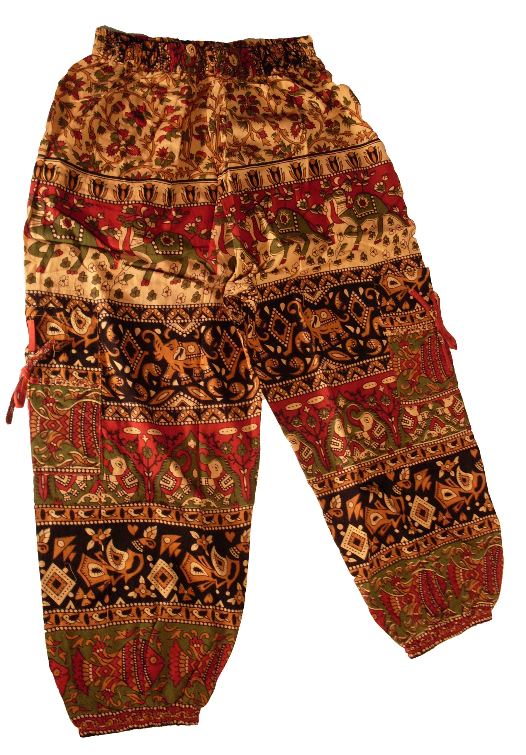 Elephant Pattern Pants