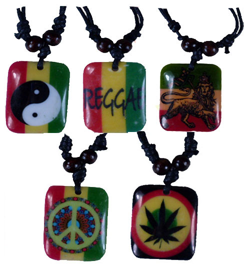 Rasta Necklace #4