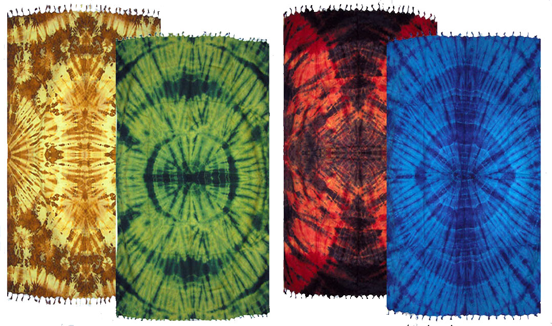 Tie Dye Sarongs Large