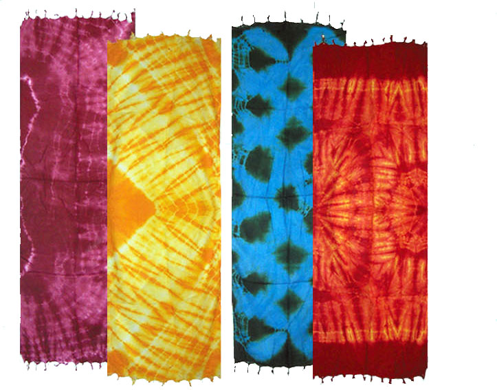 Tie Dye Sarongs Small