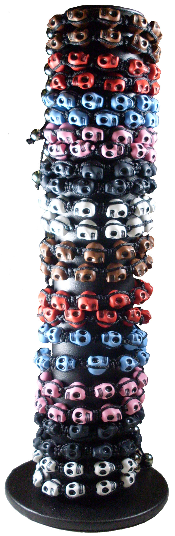 Reduced Price for Special Limited Time Skull Shambala Bracelets Pre-Pack