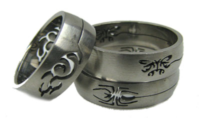 Reduced Price for Special Limited Time Stainless Steel Ring Laser Cut