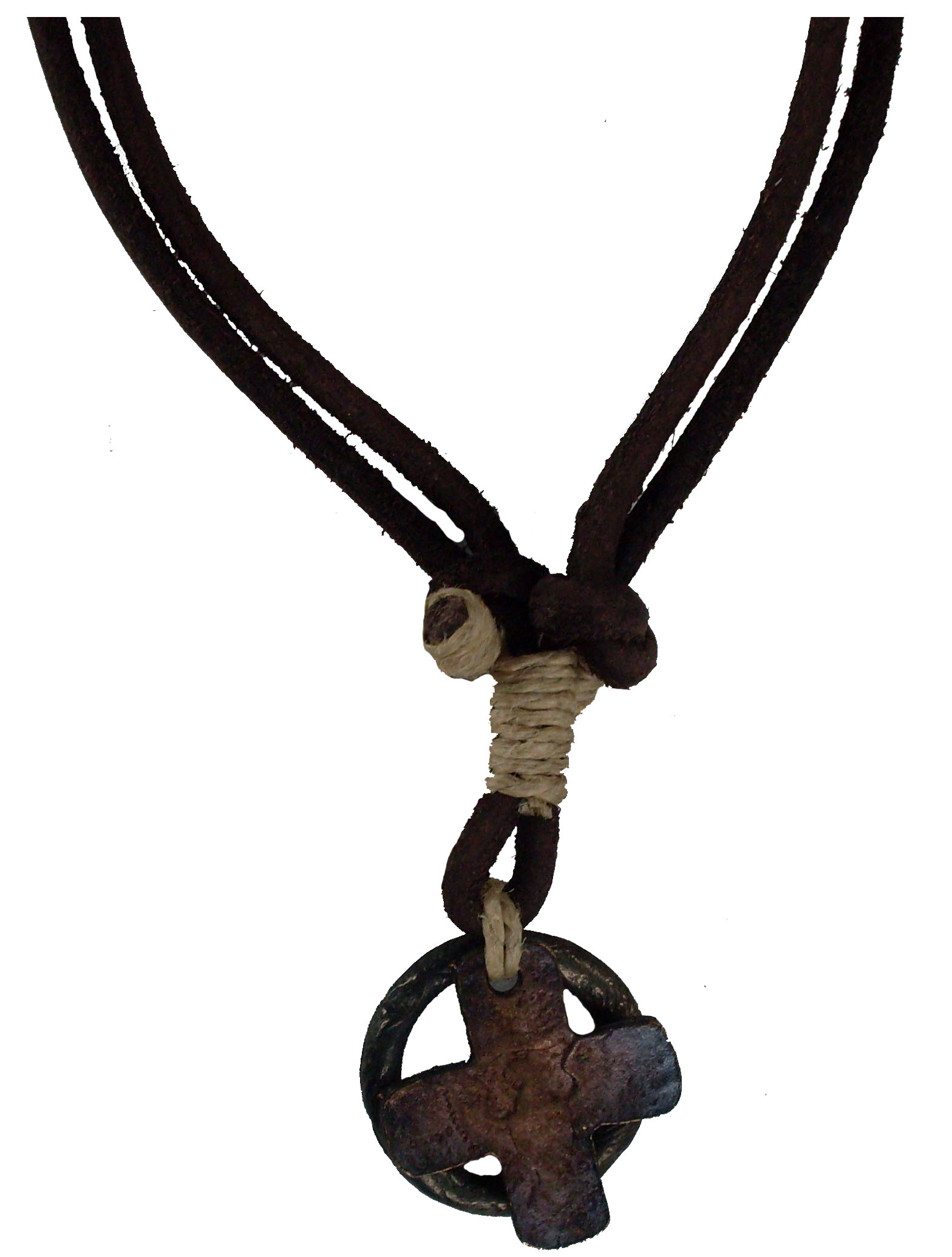 Urban Elements Leather Adjustable Necklace #104