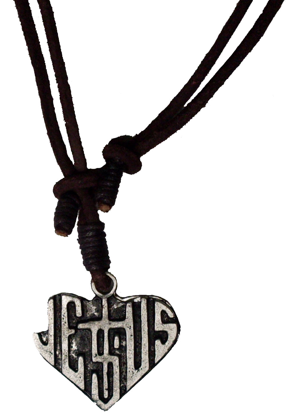 Urban Elements Leather Adjustable Necklace #107