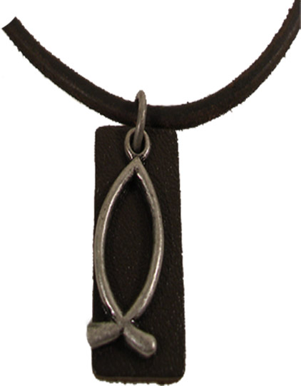Urban Elements Leather Adjustable Necklace #85