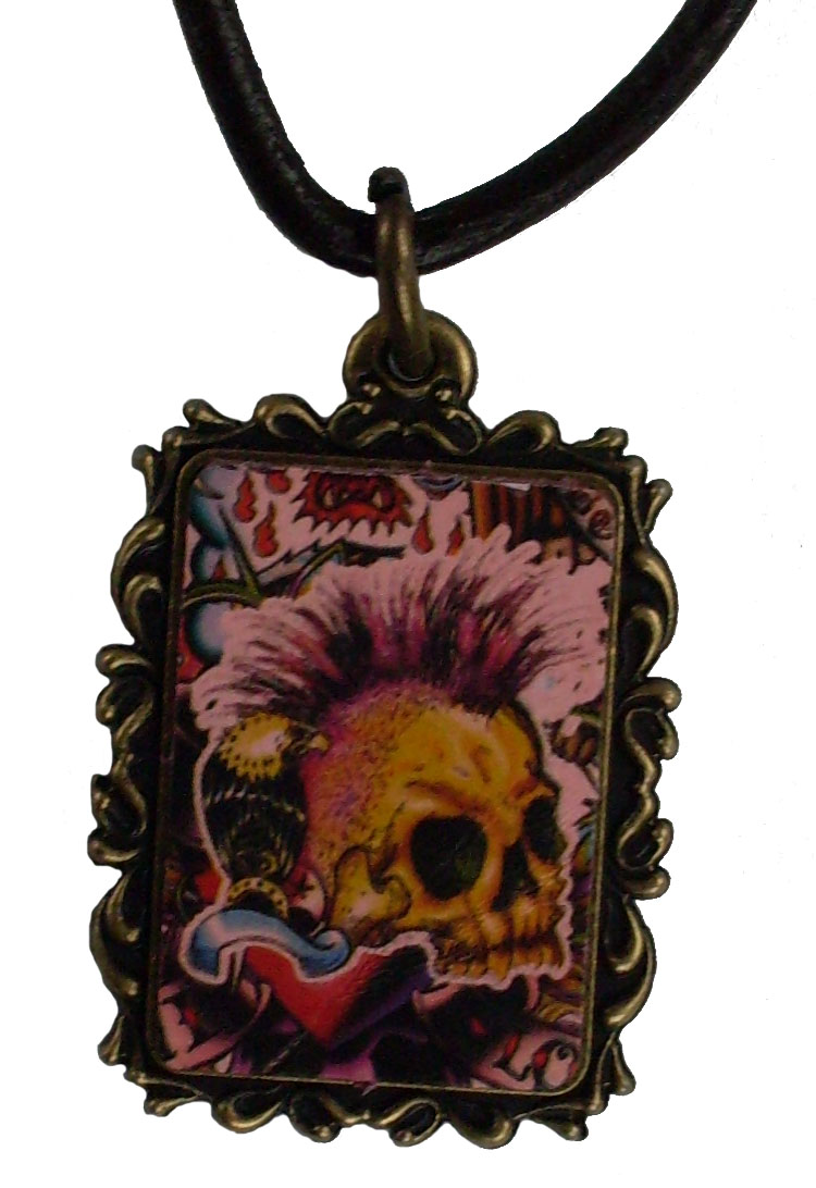 Reduced Price for Special Limited Time Small Size Tattoo Design Pendant Necklaces #8