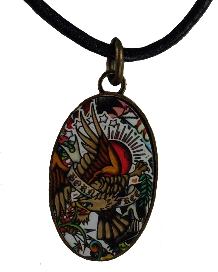Reduced Price for Special Limited Time Small Size Tattoo Design Pendant Necklaces #9
