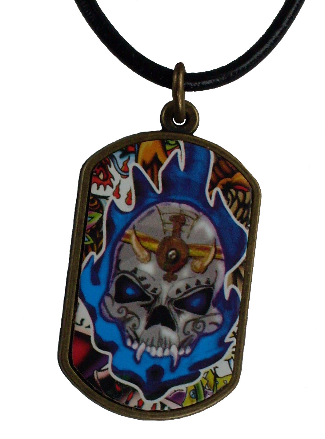 Reduced Price for Special Limited Time Medium Size Tattoo Design Pendant Necklaces #2