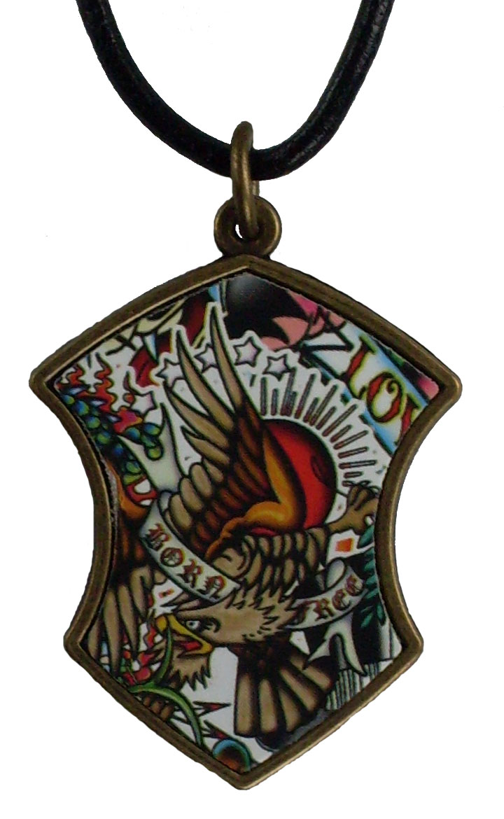 Reduced Price for Special Limited Time Medium Size Tattoo Design Pendant Necklaces #3