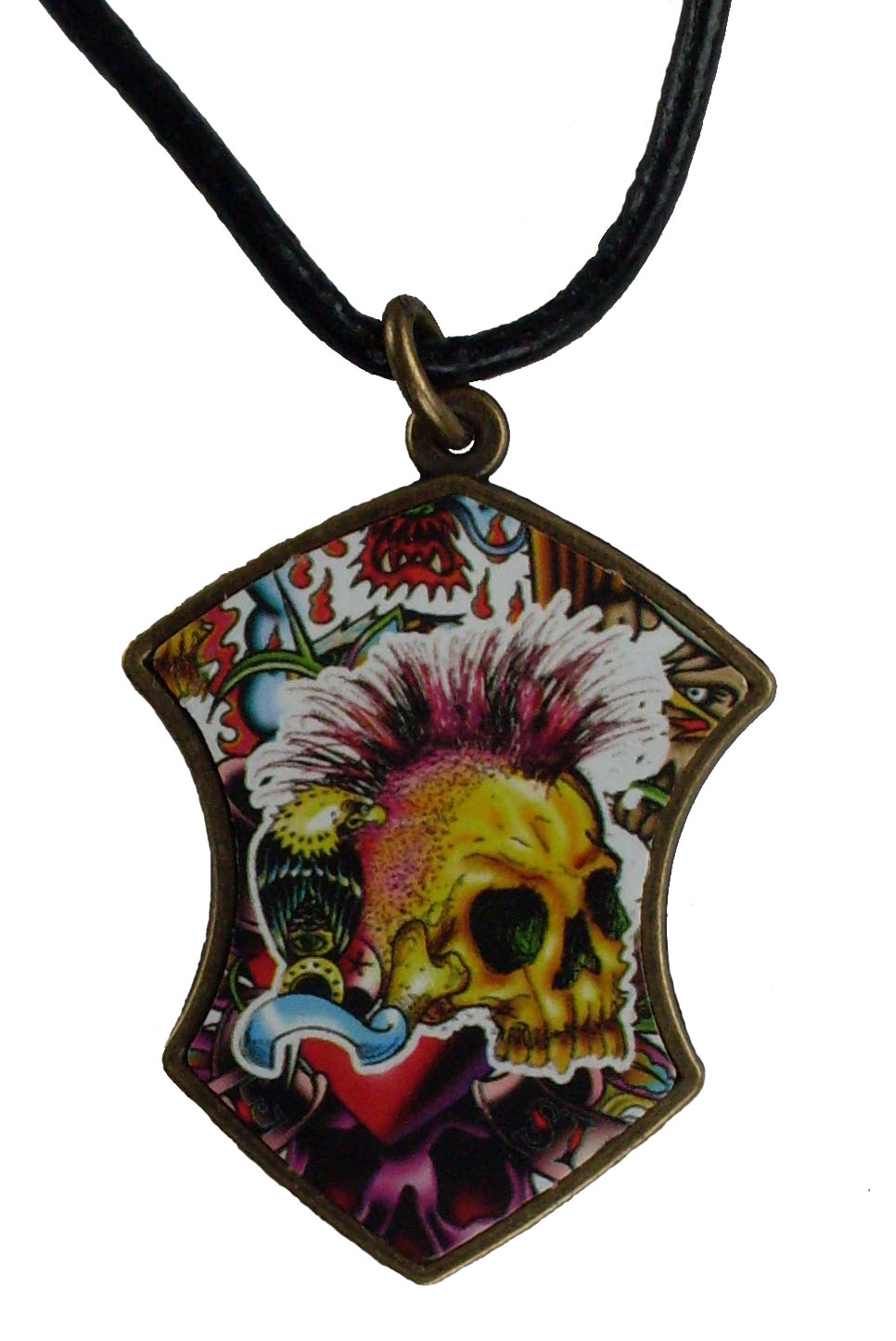 Reduced Price for Special Limited Time Medium Size Tattoo Design Pendant Necklaces #4