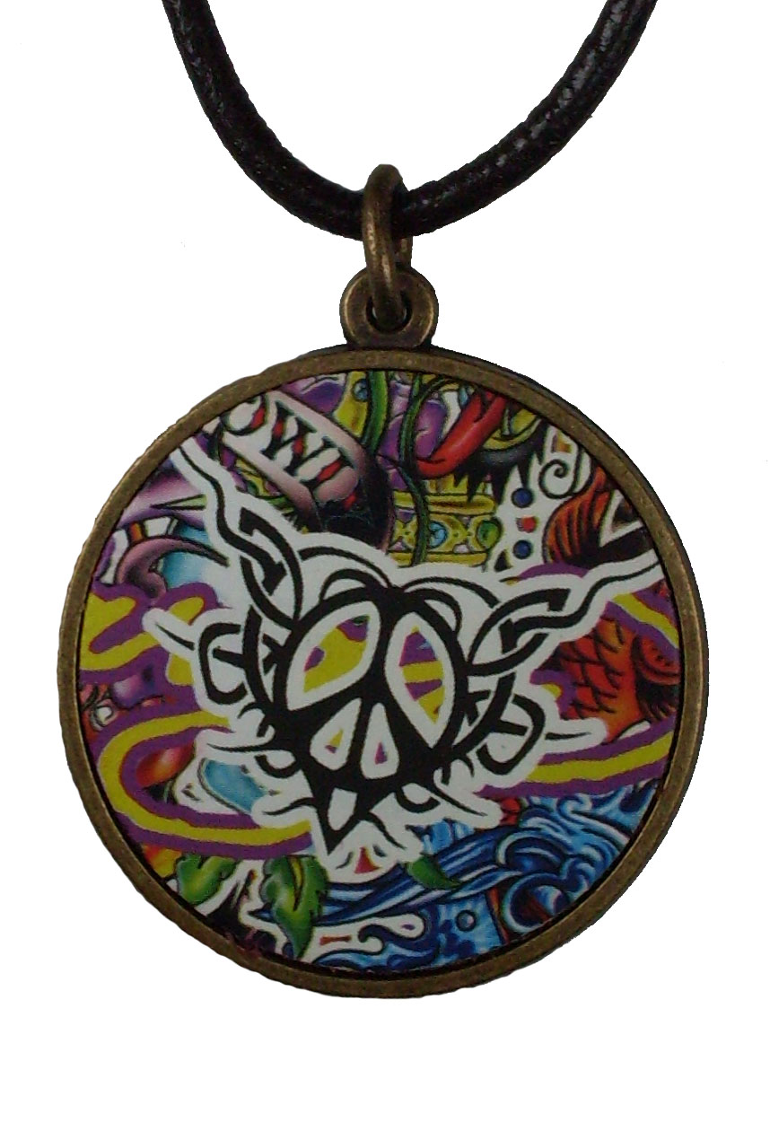 Reduced Price for Special Limited Time Medium Size Tattoo Design Pendant Necklaces #5