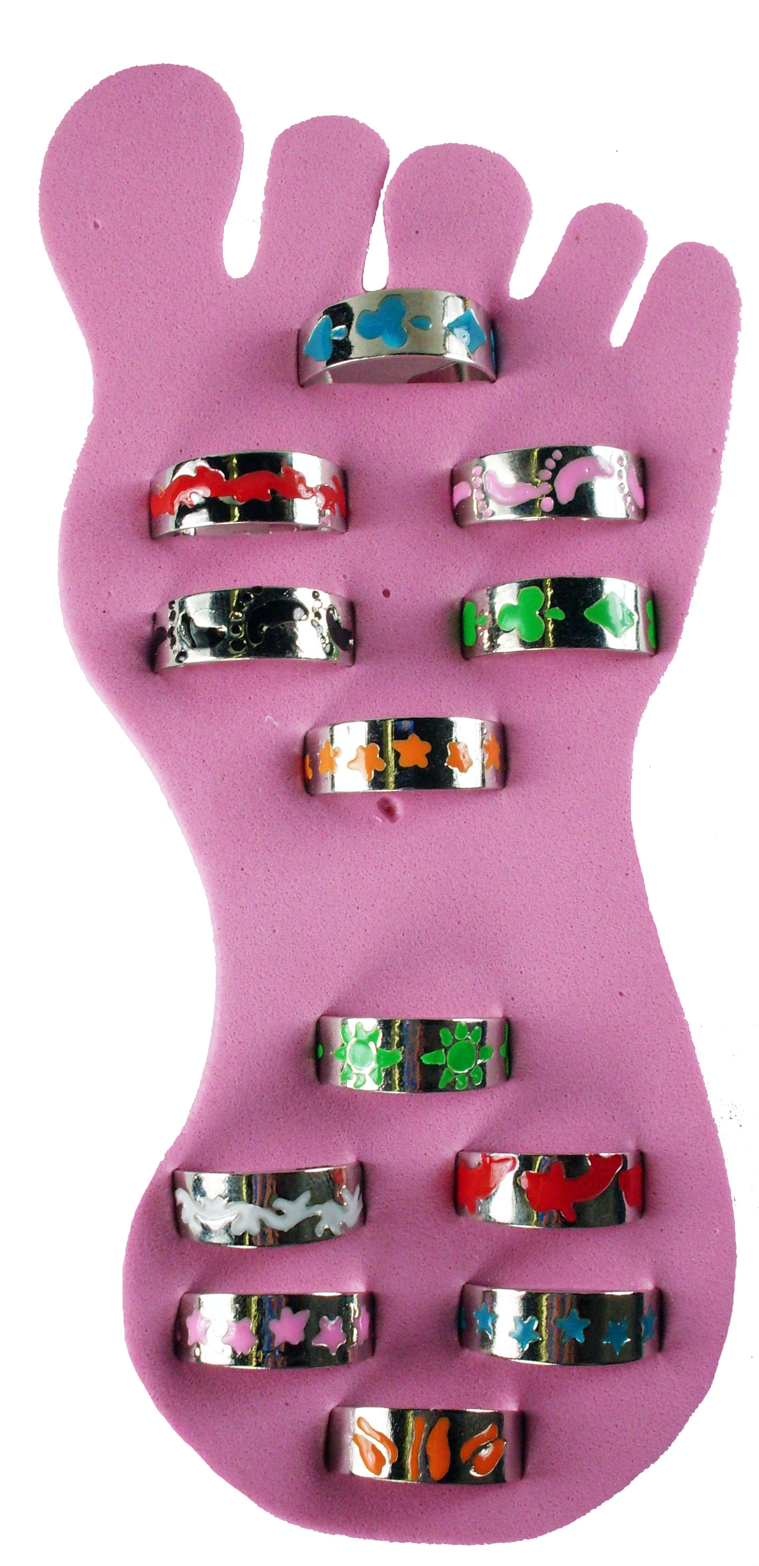 Trendy Toe Rings Pre Pack #8