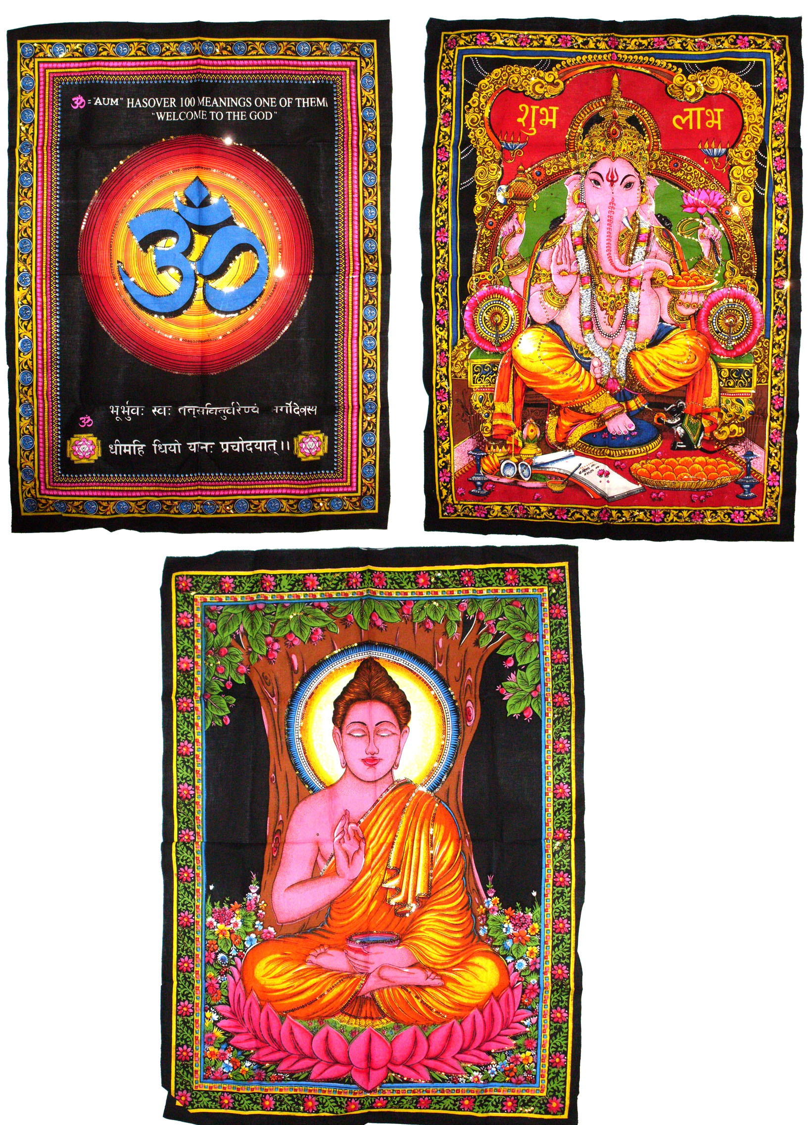 Religious Wall Hangings - Case of 72 pcs