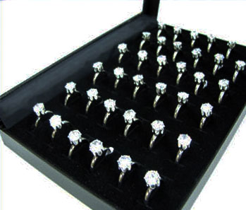 8mm Cubic Zirconia Rings