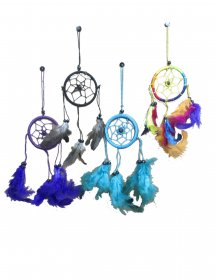 "Nylon 2.3"" Dreamcatcher (12pcs)"