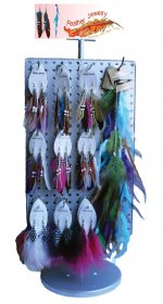 Feather Earring and Hair Extension Pre Pack