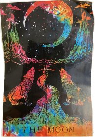The Moon Mini Tapestry