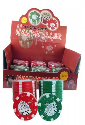 Poker Chip Grinder (12 Pack)